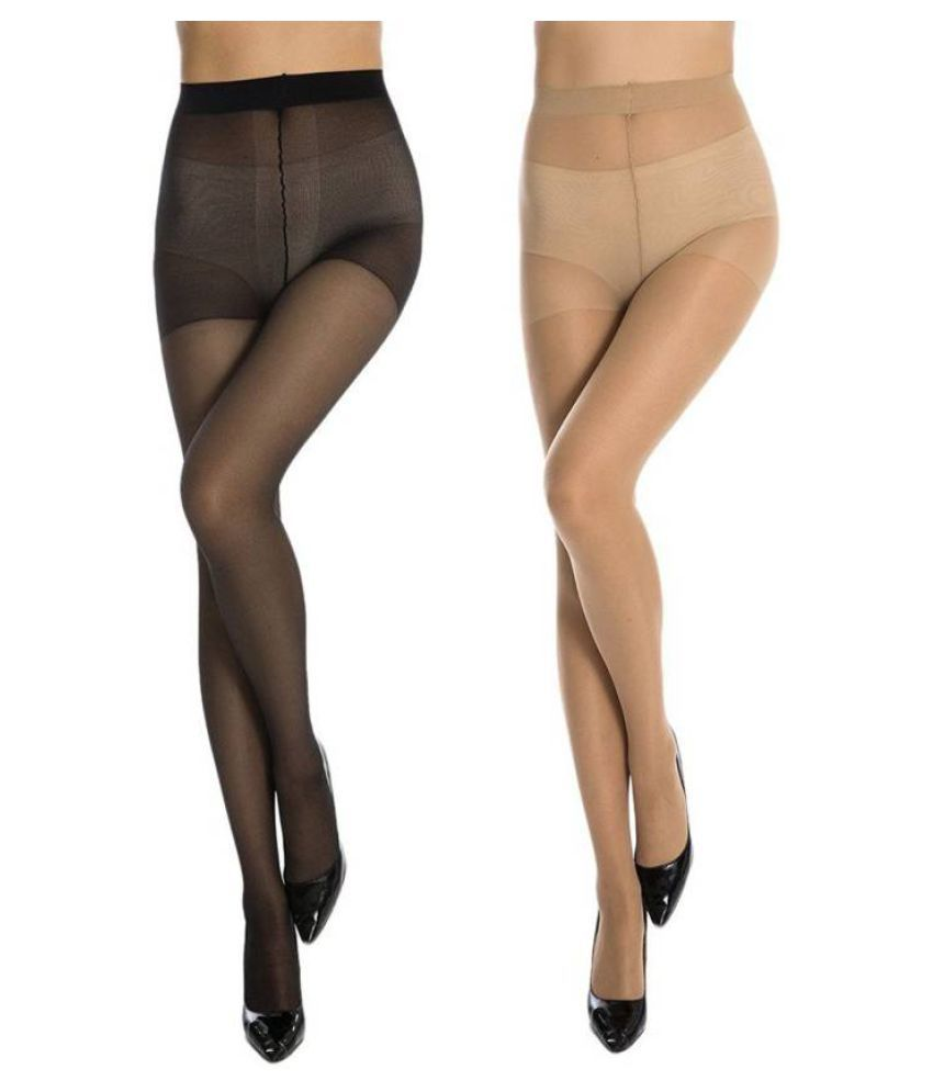 Ansh Fashion Wear Womens Stocking Pack Of 2