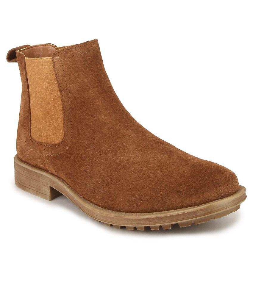 Carlton London Brown Chelsea boot