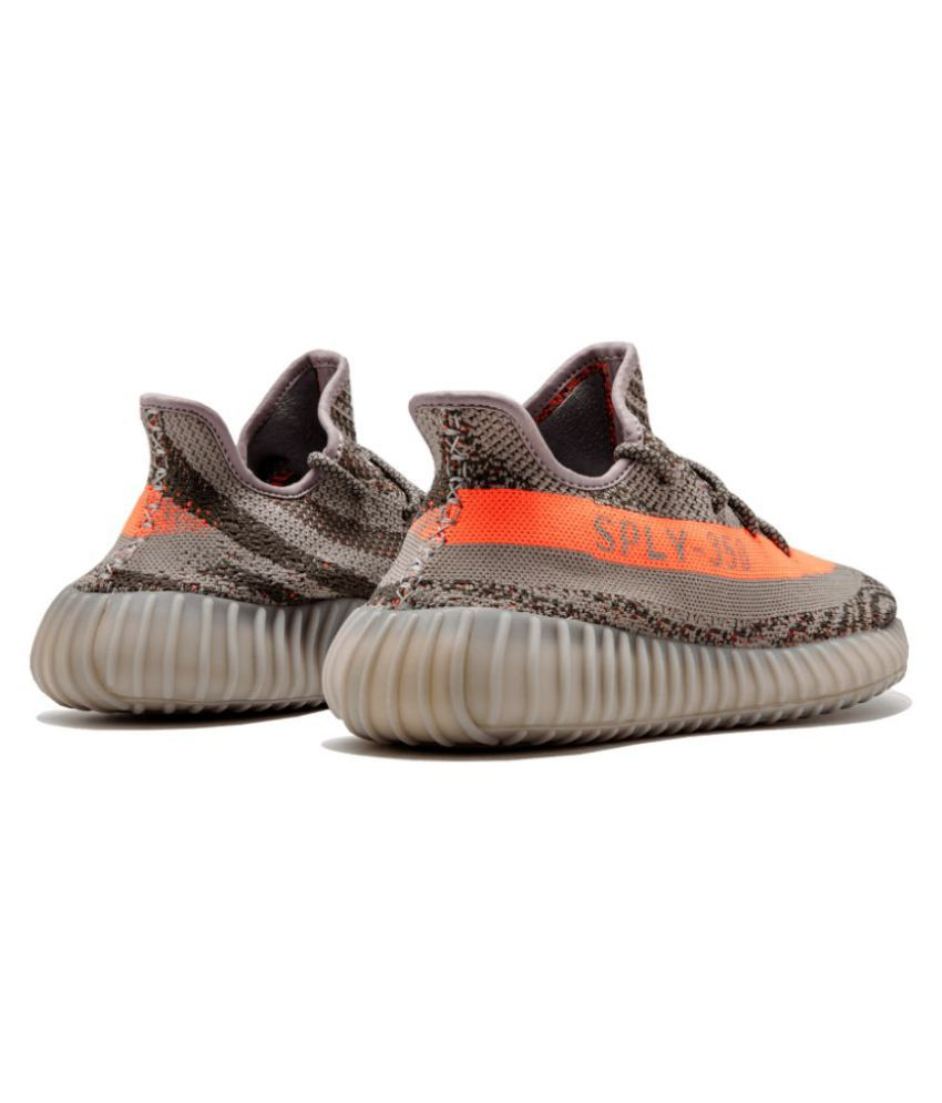 c3a75f9d3 Adidas Yeezy Boost 350 V2 Gray Running Shoes - Buy Adidas Yeezy ...