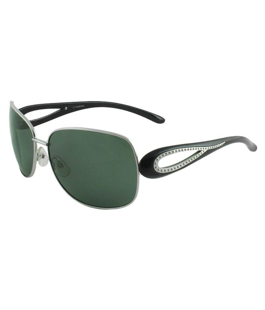 Polaroid Grey Oval Sunglasses ( P4007A-Cat3 )