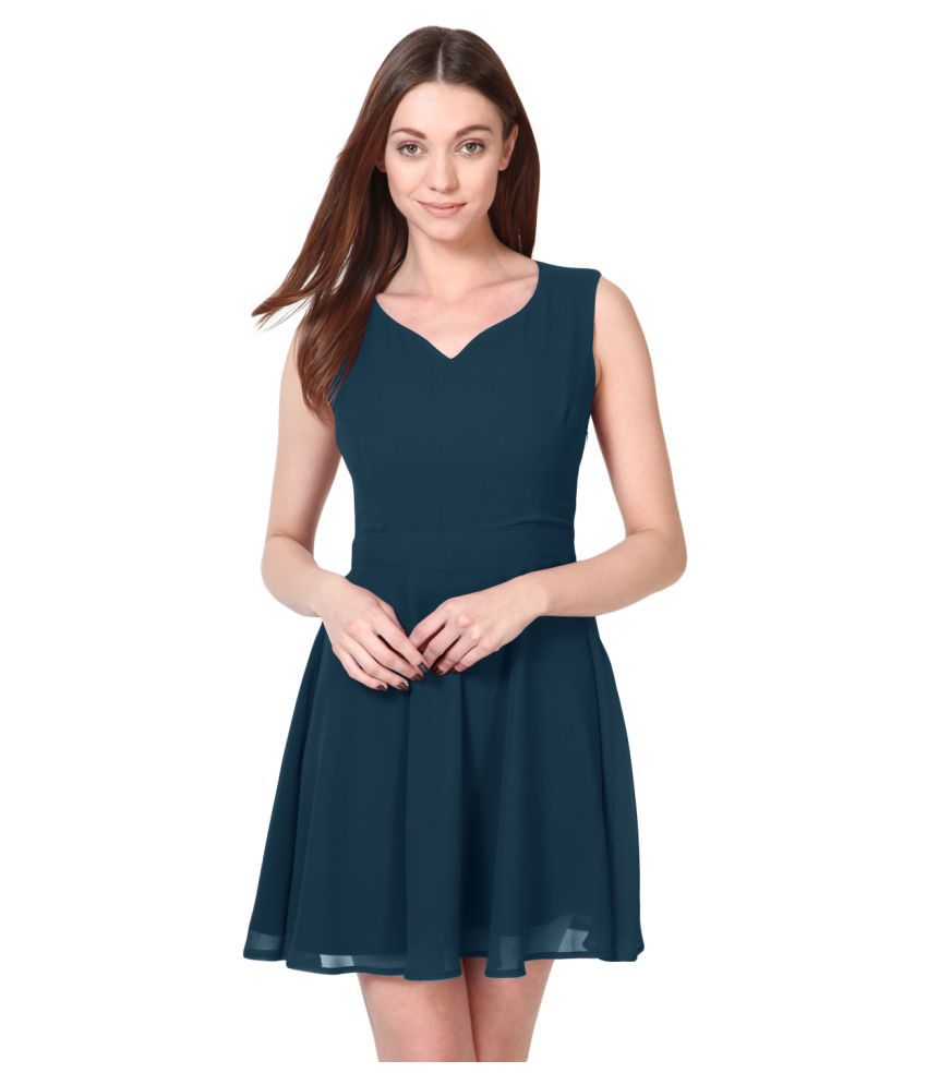 Besiva Polyester Dresses