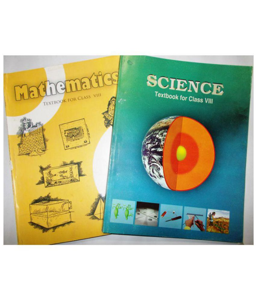 NCERT SET OF BOOKS FOR CLASS 8 OF SCIENCE AND MATHEMATICS