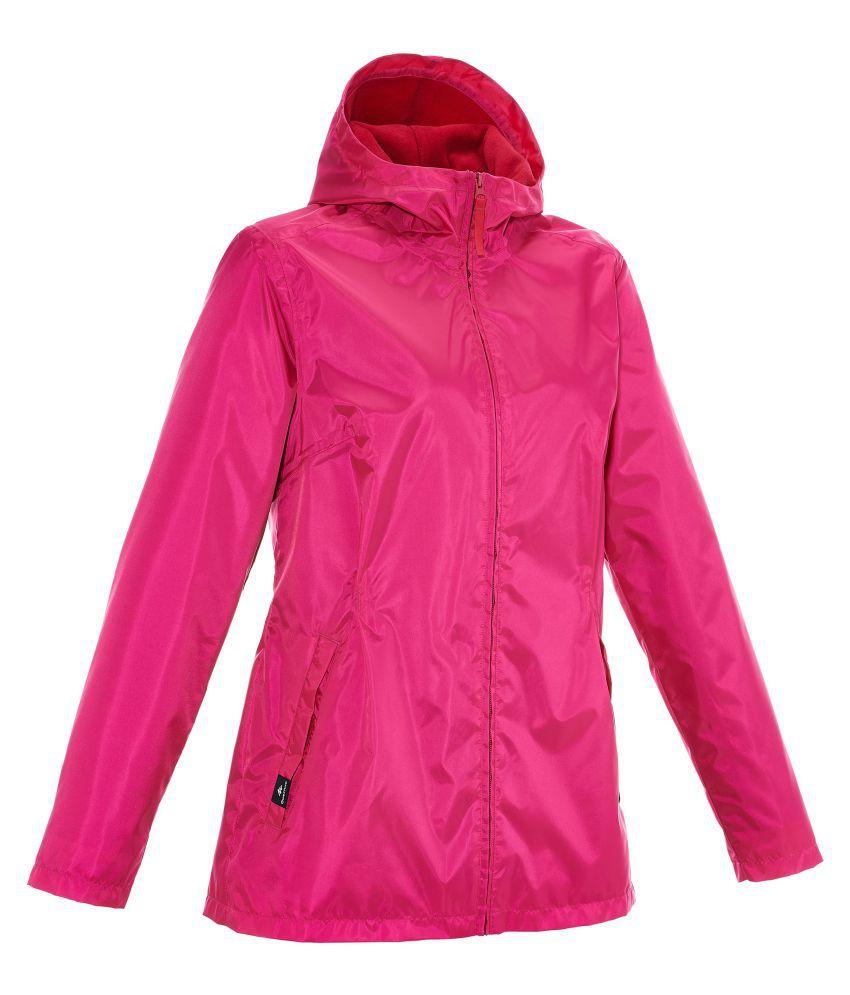 Quechua Pink Hiking Jacket for Women