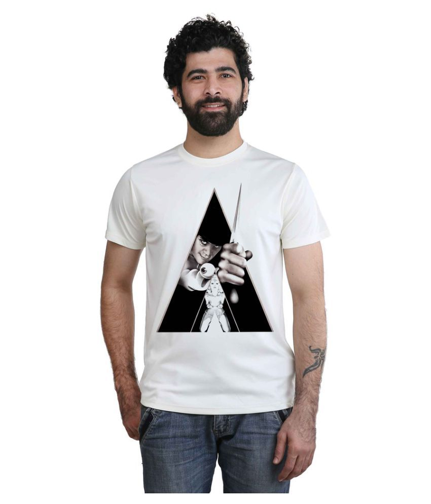 Snoby Off-White Round T-Shirt