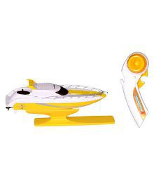 Montez Yellow 4ch 2.4g High Speed Cruise Ship Remote Control Rc Boat