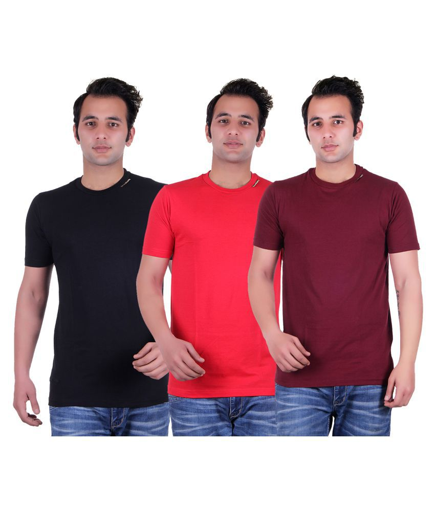Grand Derby Multi Round T-Shirt Pack of 3
