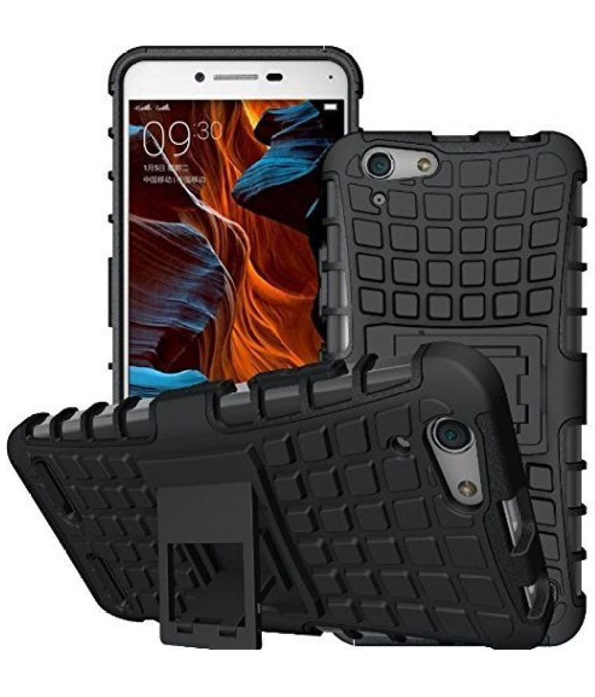 newest 73bde 3c525 Lenovo Vibe P1 Shock Proof Case Helix - Black - Plain Back Covers ...