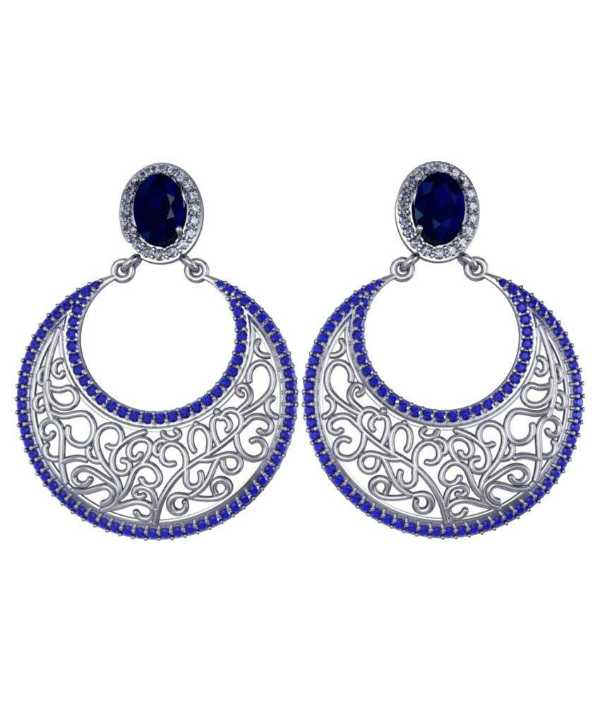 Suvam jewels 92.5 Silver Swarovski Chandeliers