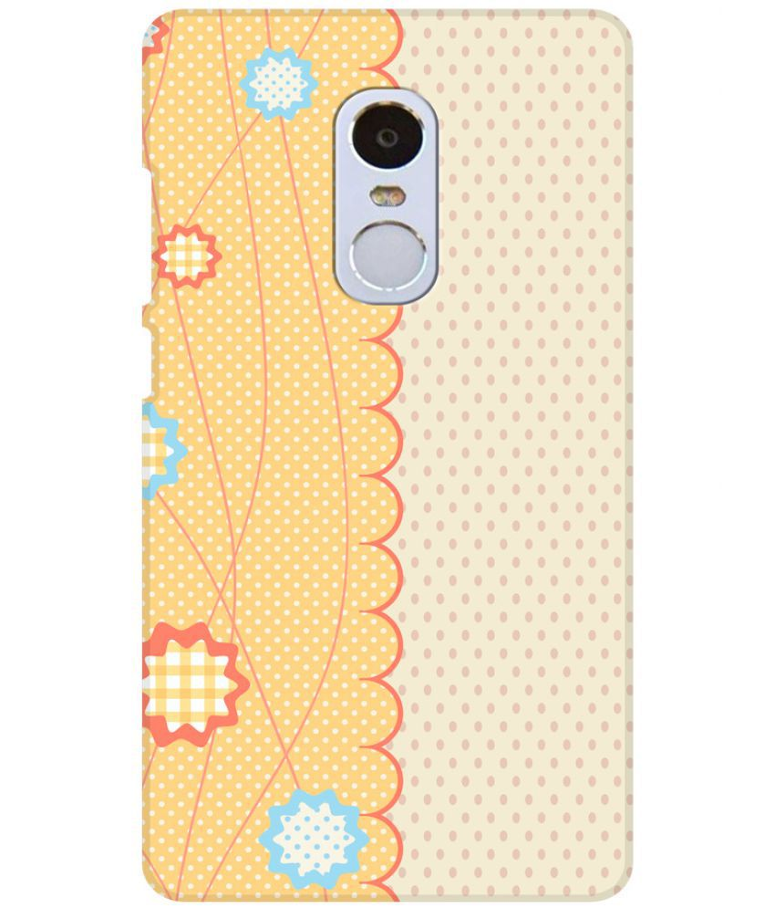 Xiaomi Redmi Note 4 3D Back Covers By Aman