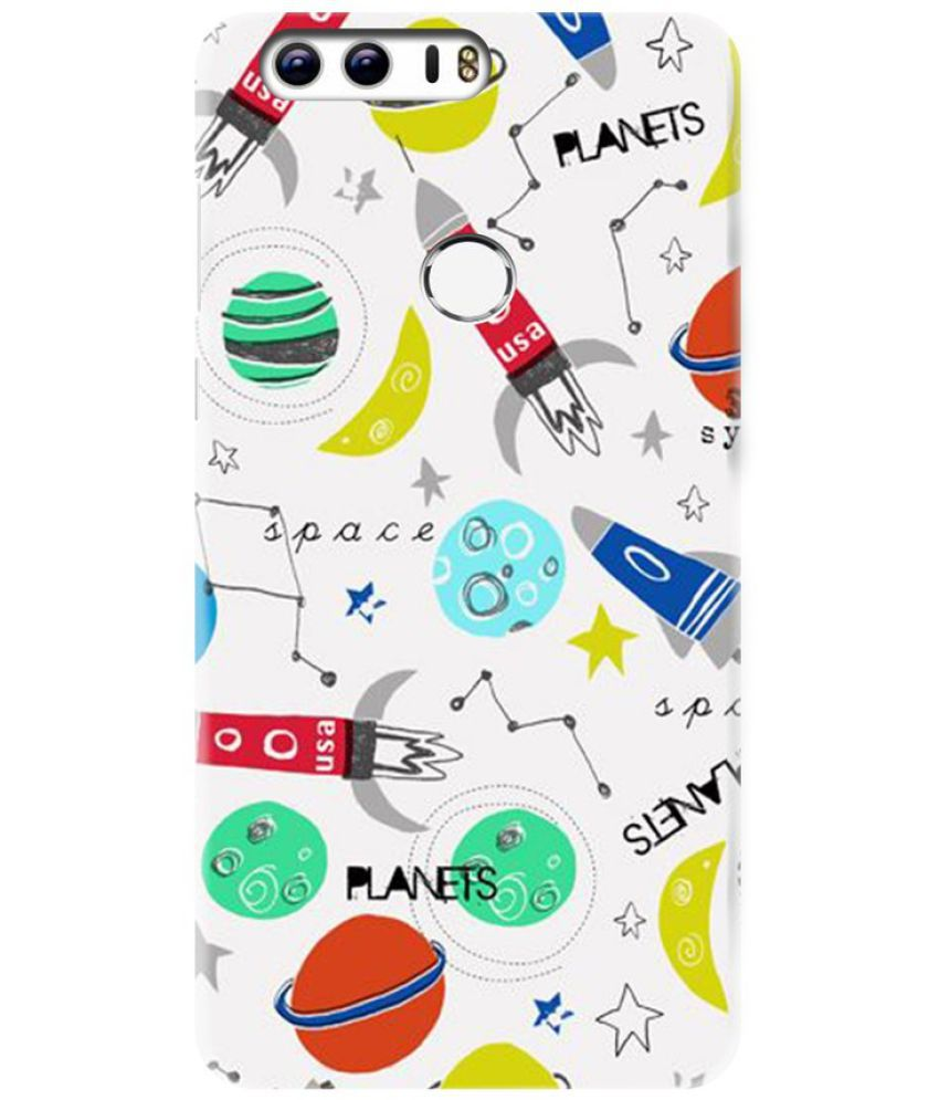 Huawei Honor 8 Printed Cover By Knotyy
