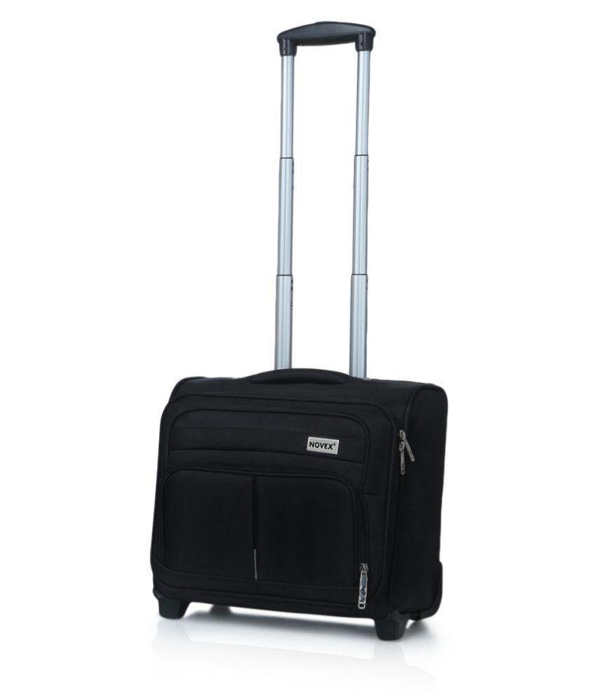 Novex Black S (Below 60cm) Cabin Soft Luggage - Buy Novex Black S ...