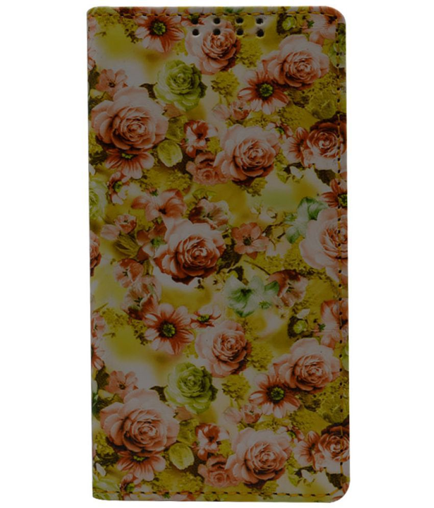 Apple iPhone 6 Flip Cover by Dsas - Yellow