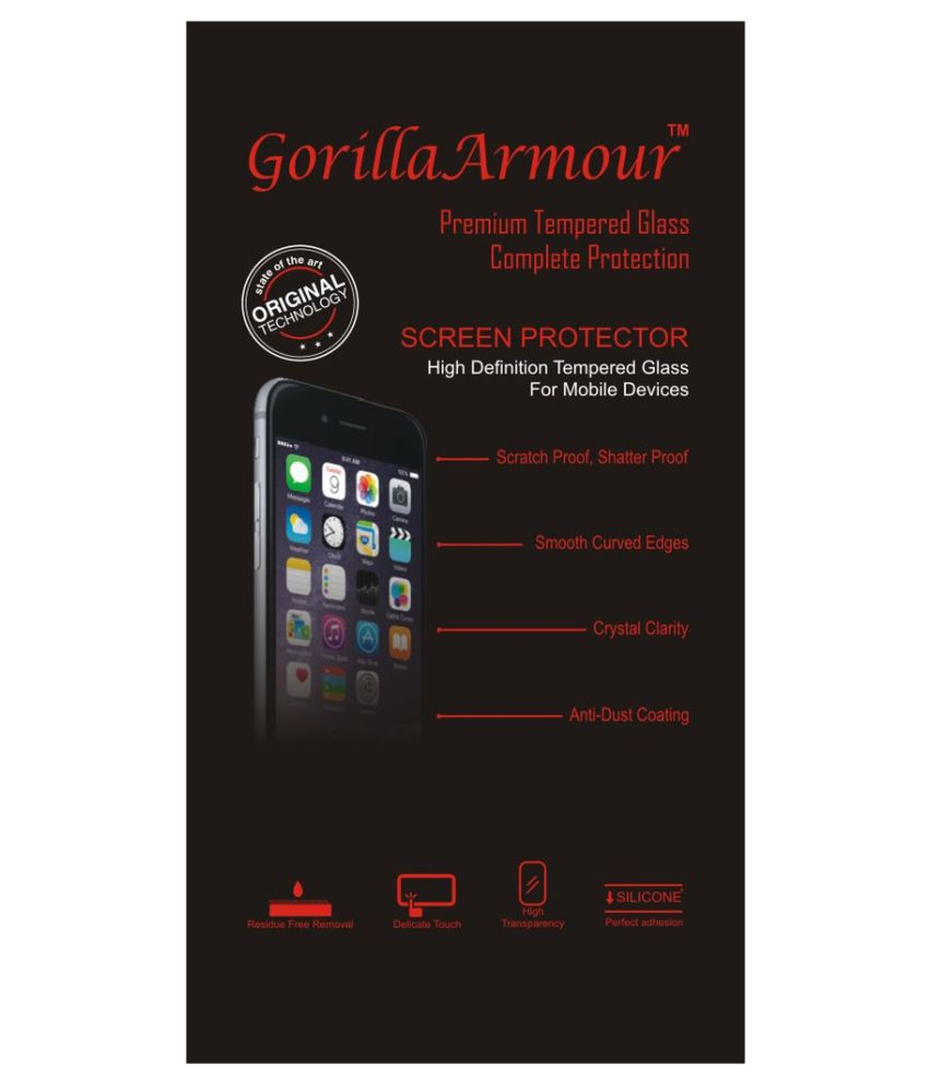 Motorola Moto X Play Tempered Glass Screen Guard By Gorilla Armour