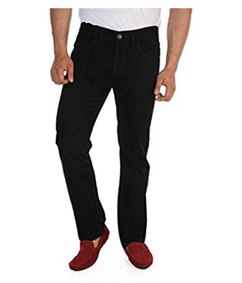 Stylee Black Slim Jeans