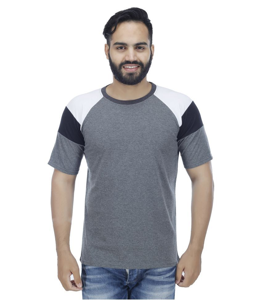 Rakshita's Collection Grey Round T-Shirt