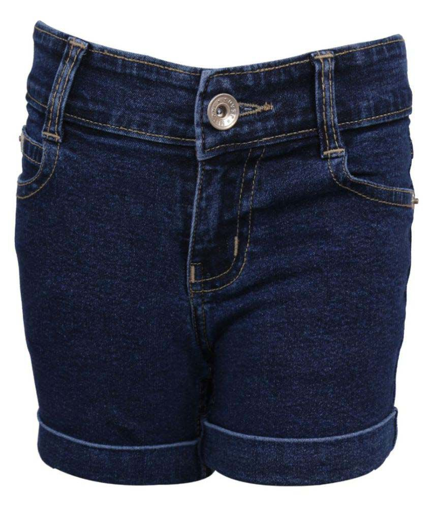 Miloni Dark Blue Shorts