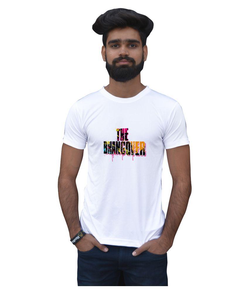 Stybuzz White Round T-Shirt