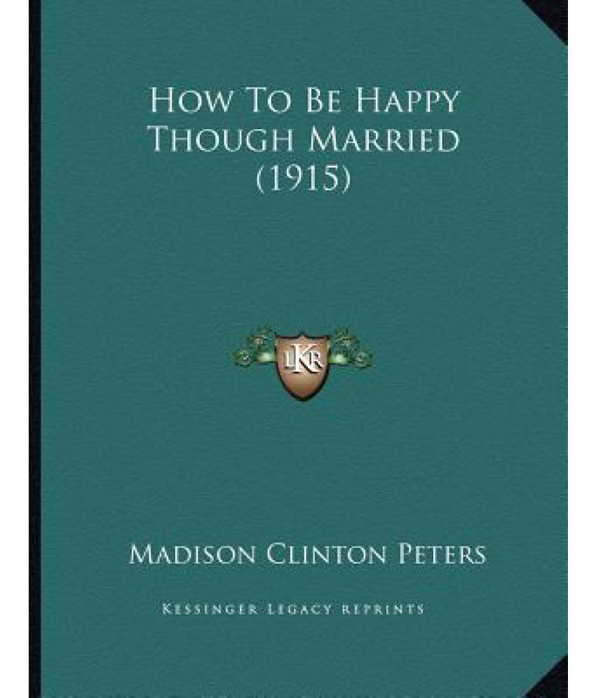 How To Be Happy Though Married (1915): Buy How To Be Happy Though