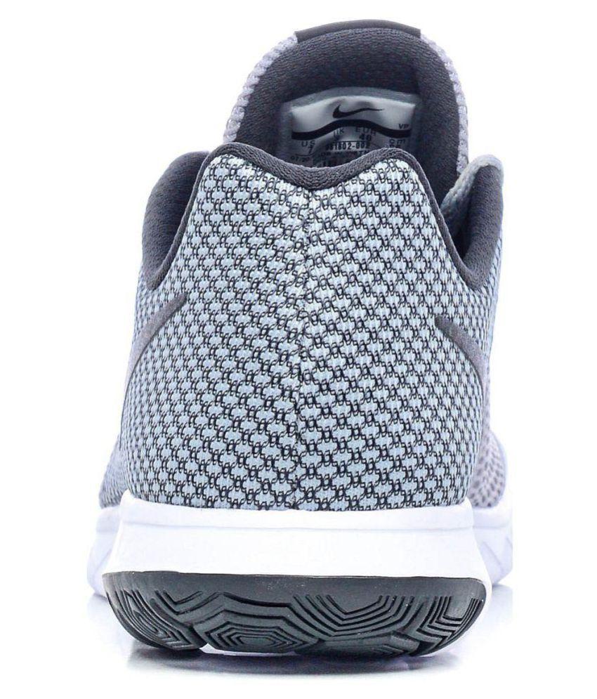 4aac93e47d3b Nike Flex Experience RN 6 Gray Running Shoes - Buy Nike Flex ...