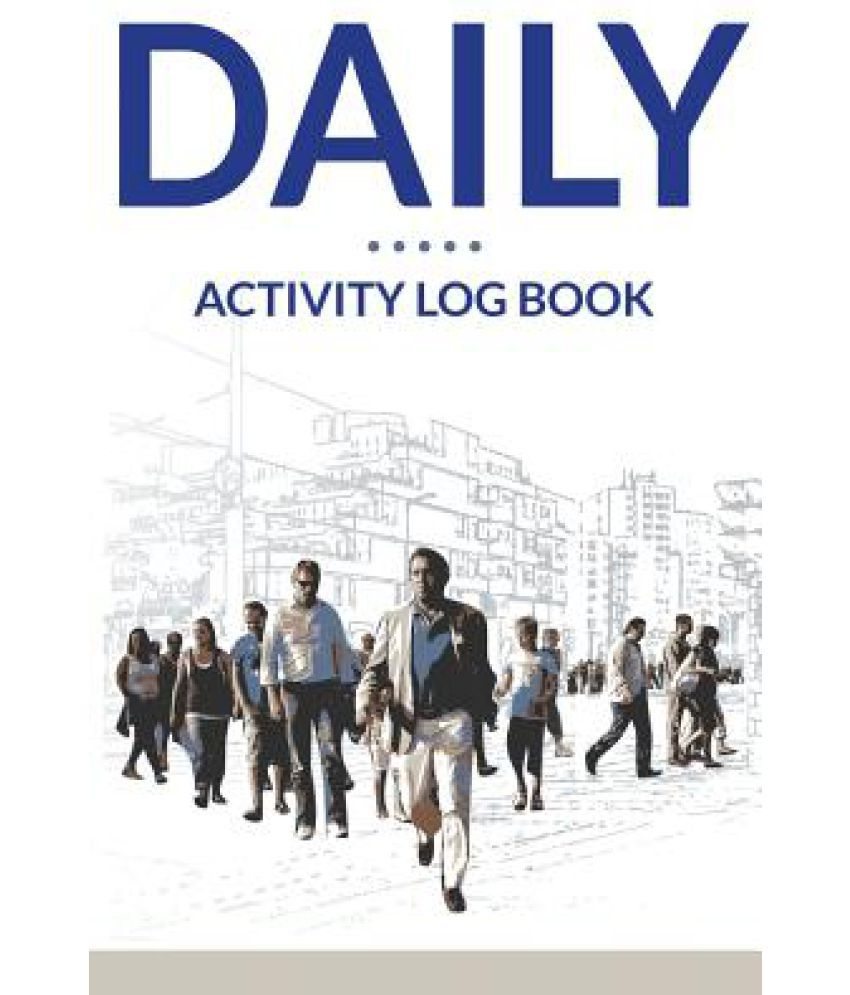 daily activity log book buy daily activity log book online at low