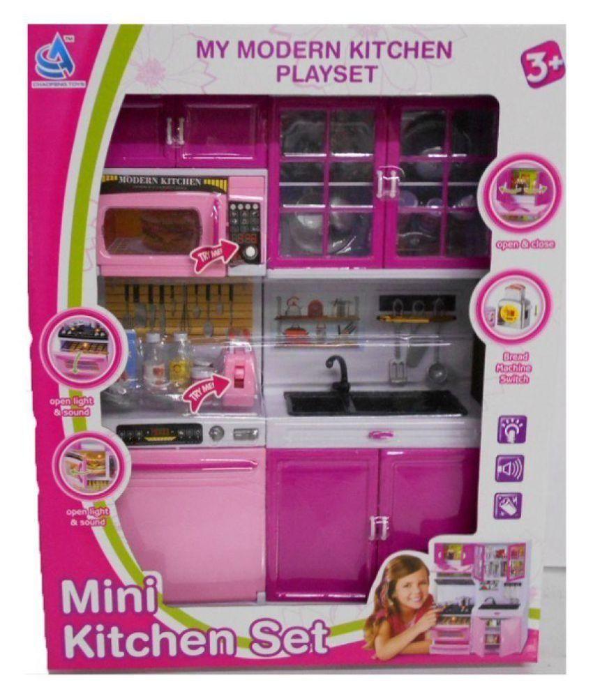 Emob Attractive Modern Kitchen Playset Toy- 36cm - Buy Emob ...