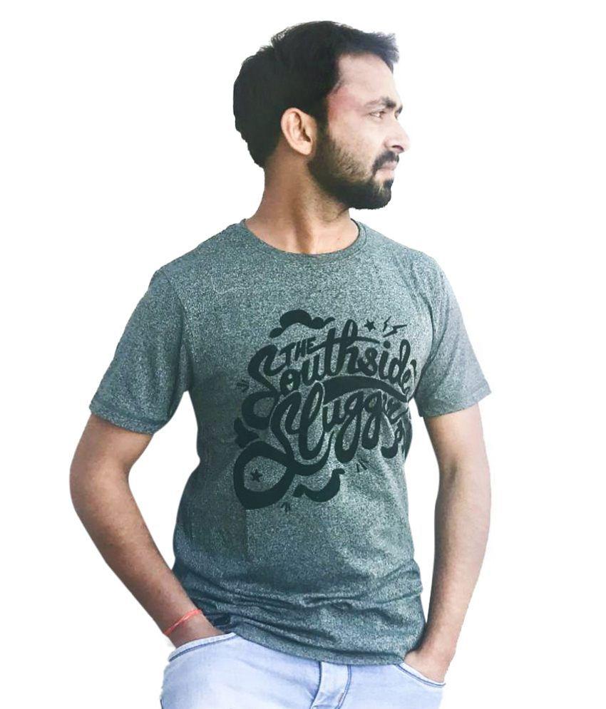 Adiosstyle Grey Round T-Shirt