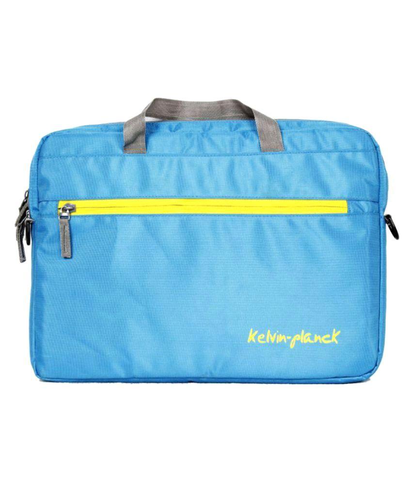 Kelvin Planck Blue Laptop Sleeves