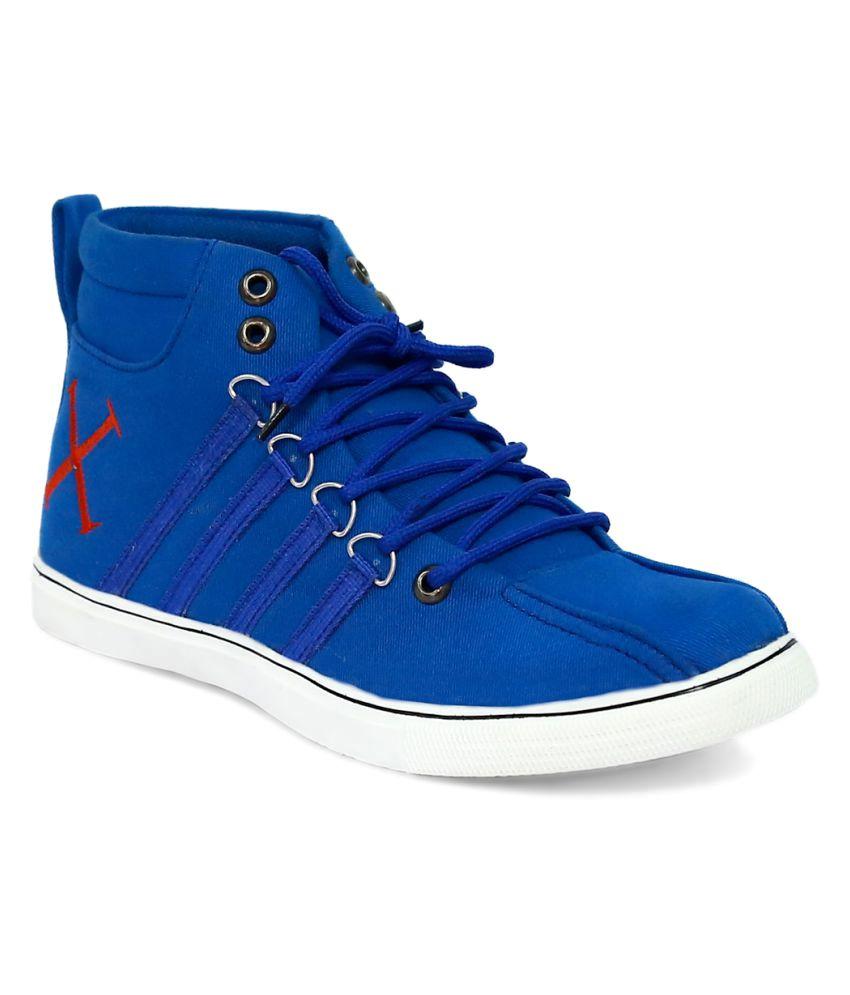 Ostr Blue Casual Boot