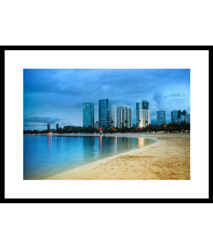 Myimage Beautiful Famous Places and Cities Paper Wall Poster With ...