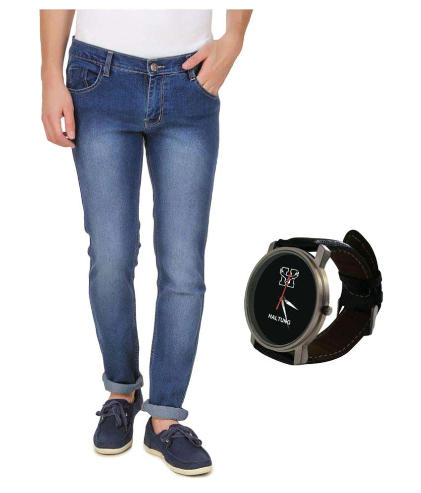 Haltung Dark Blue Relaxed Jeans
