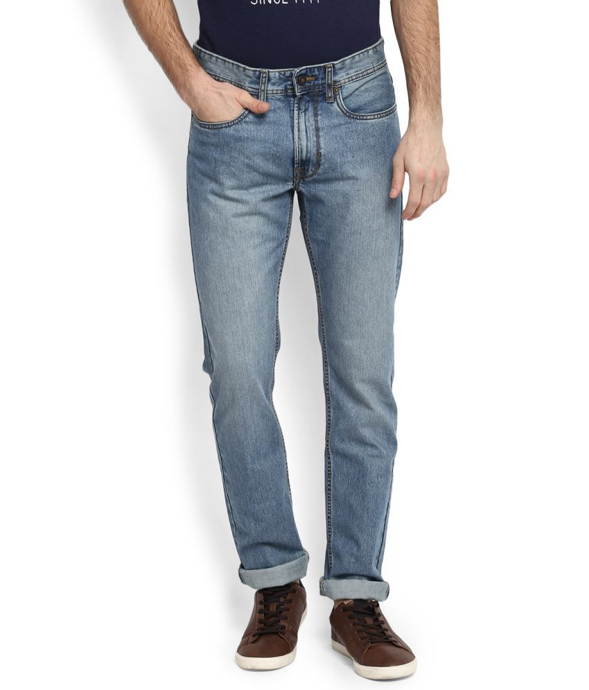 Peter England Blue Slim Jeans