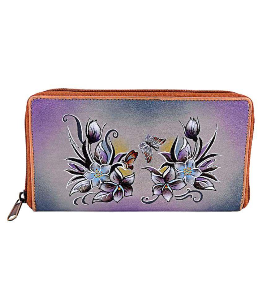 Zint Purple Wallet