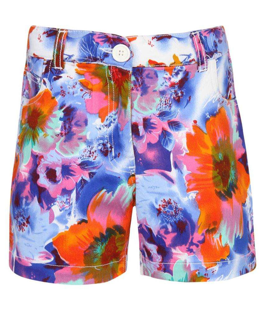 612 League Multicolour Hot Pants