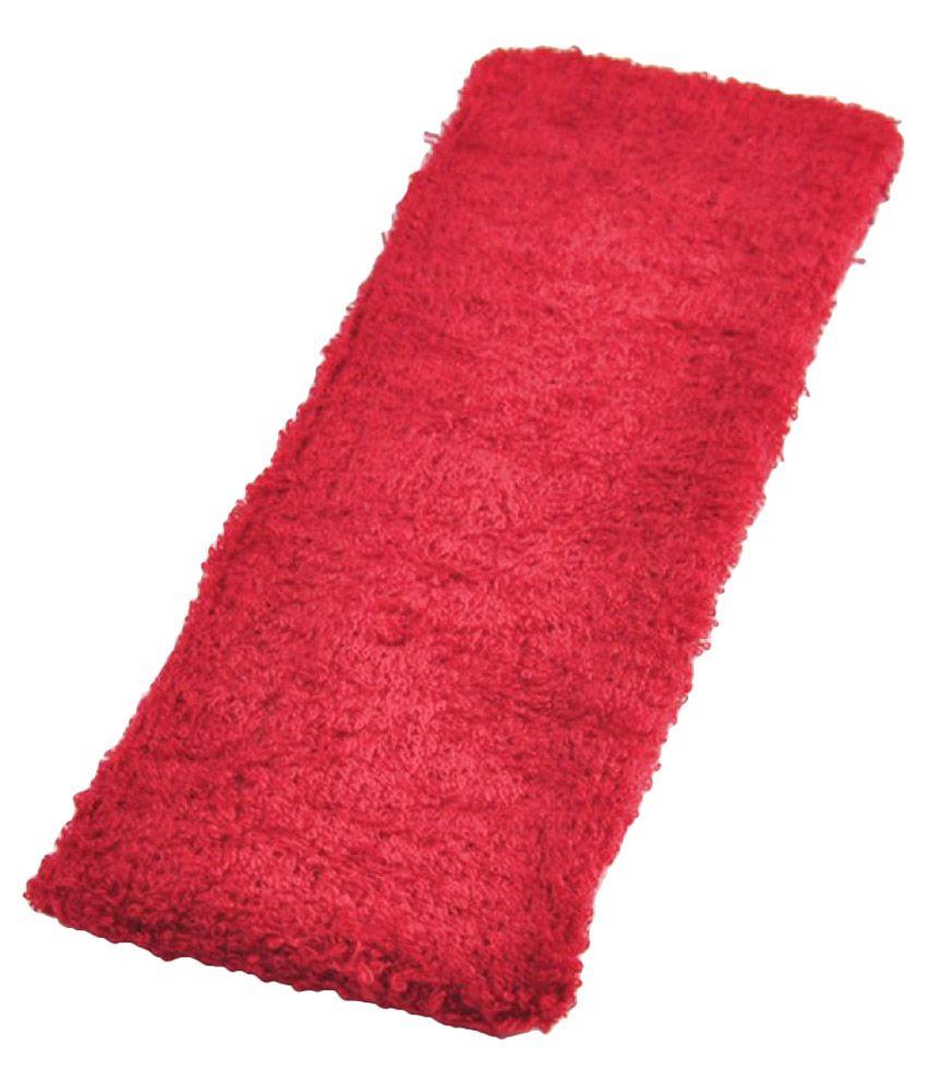 Futaba Fitness Soft Elastic Headband - Red