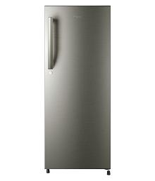 Haier 220 Ltr 4 Star HRD-2204BS-R Single Door Refrigerator - Silver