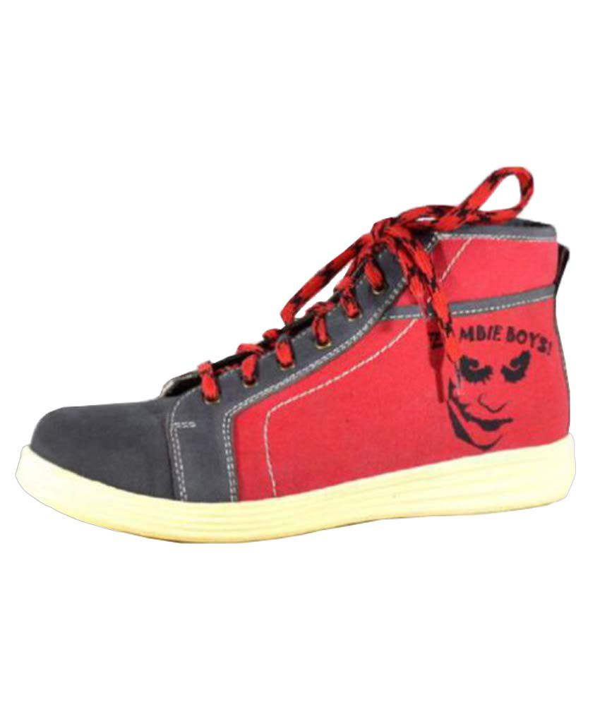 Alpin Red Casual Boot