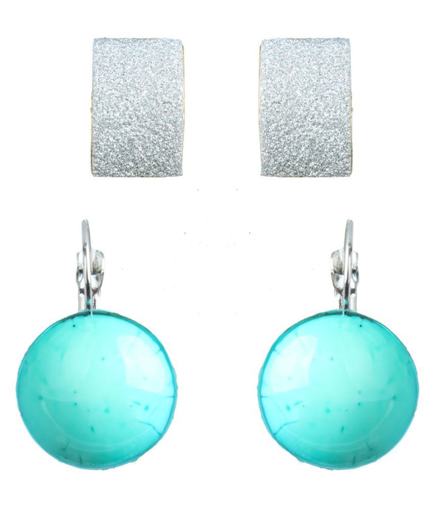 Waama Jewels Multicolor Earrings - Pair of 2