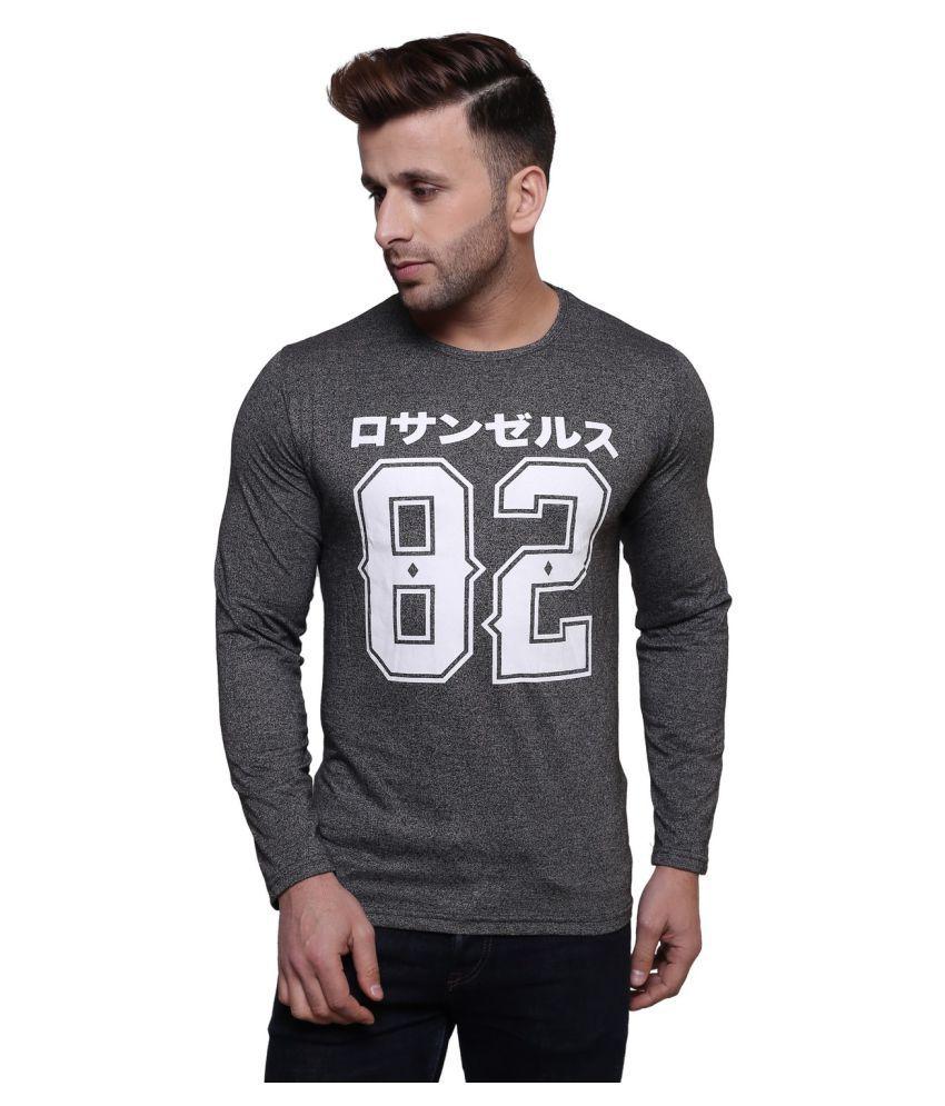 Darwin Grey Round T-Shirt