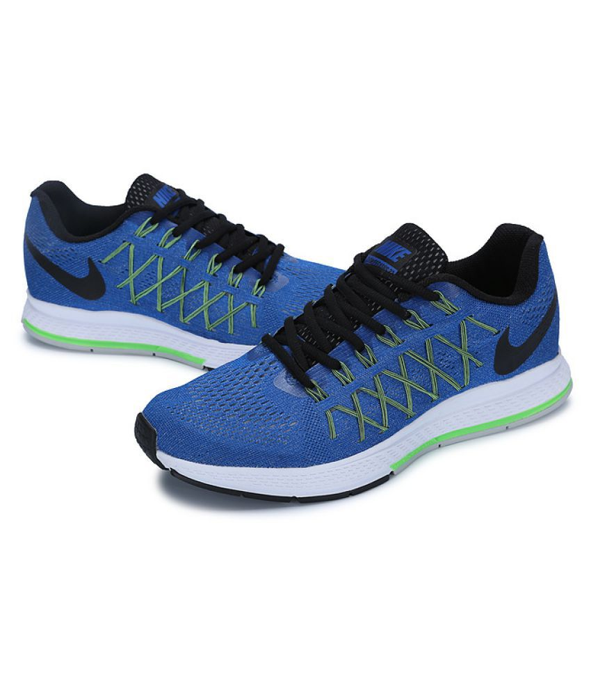 new style abee8 6a923 Nike Zoom Pegasus 32 Blue Running Shoes