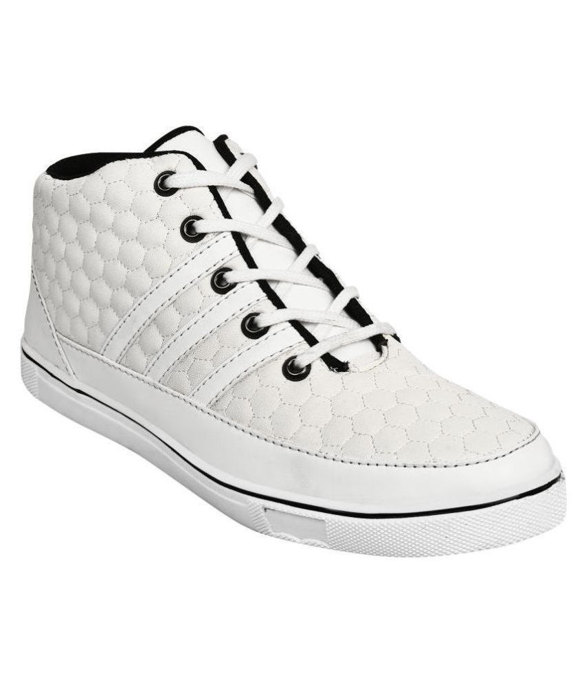 AVIS Admire White Casual Boot