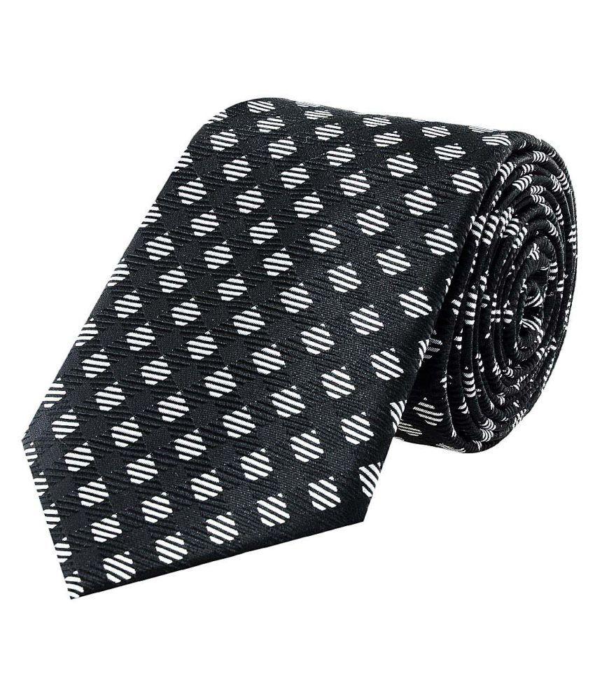 Tiekart Black Casual Necktie