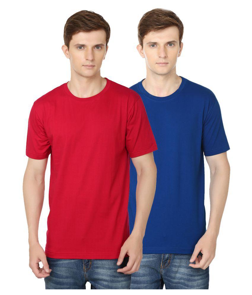 Ben Carter Multi Round T-Shirt Pack of 2