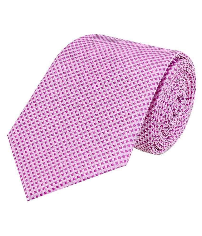 Tiekart Pink Casual Necktie