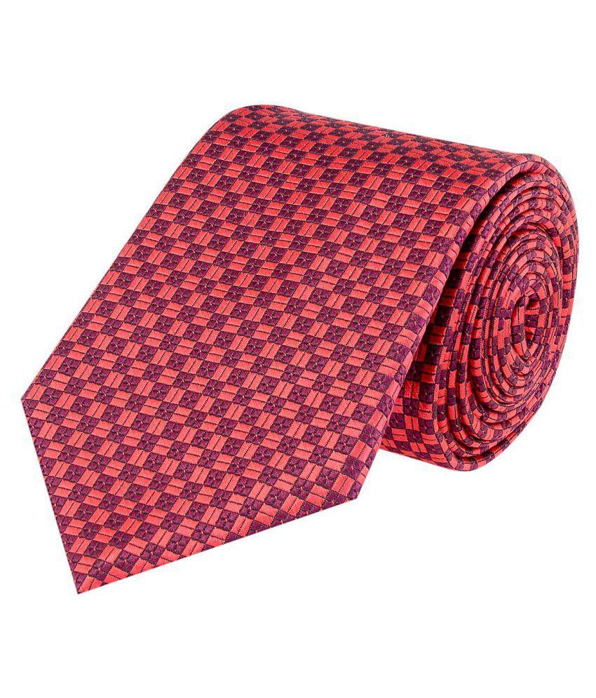 Tiekart Red Formal Necktie