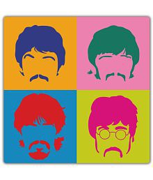 My Own Los Beatles Hard Board Mounted Poster Wood Photo Wall Poster Without Frame Single Piece