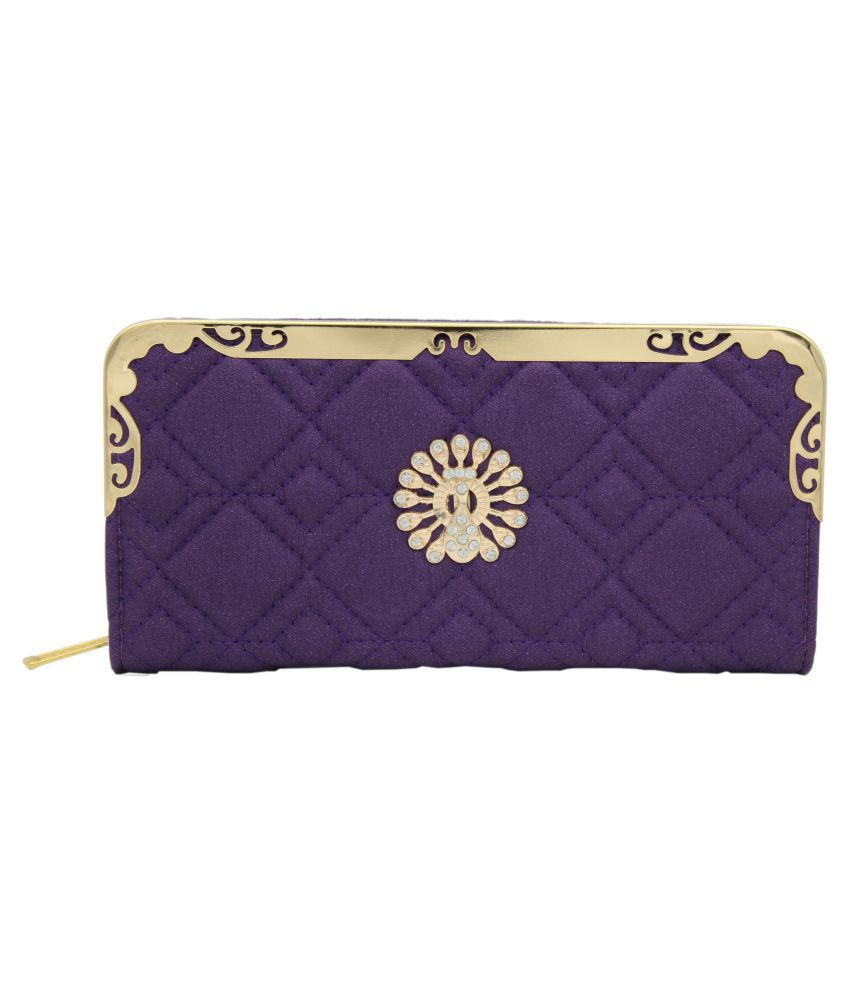 Trendy Purple Wallet