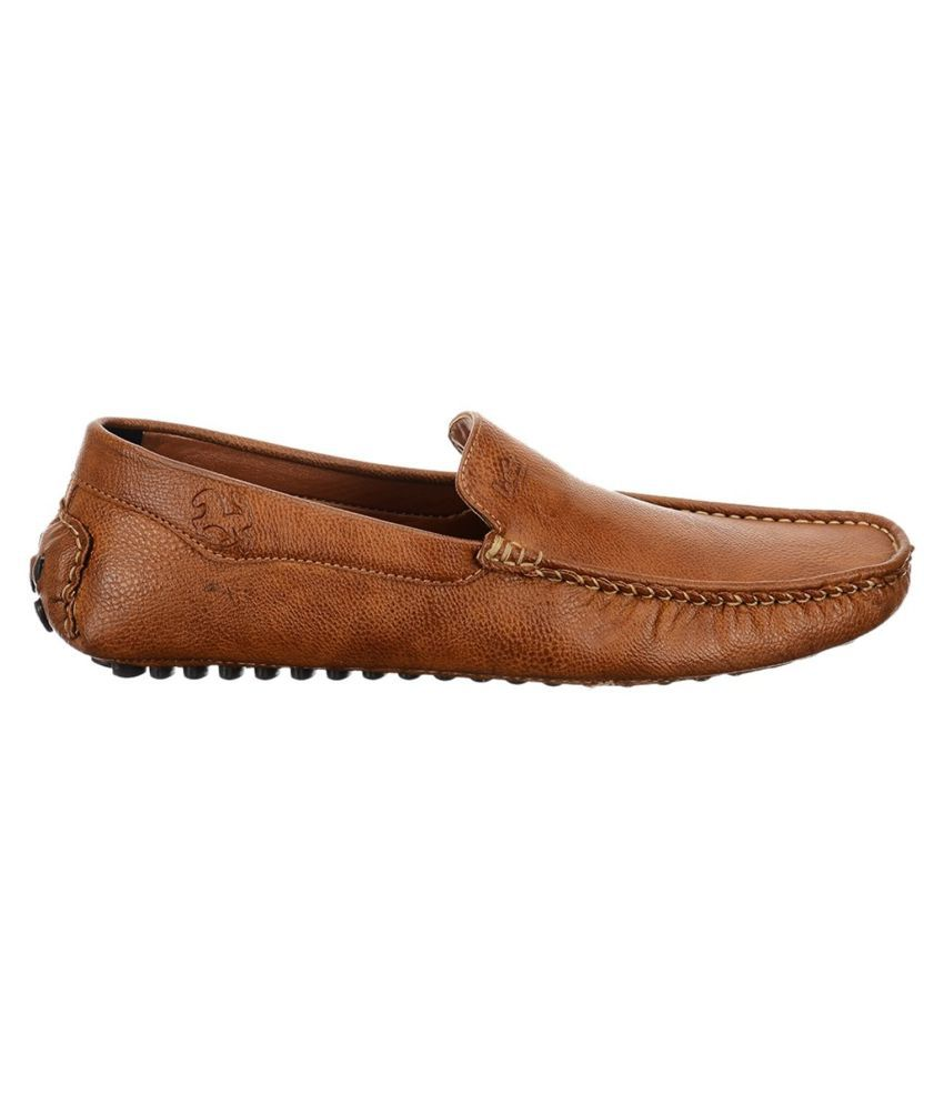 Look Style Tan Loafers - Buy Look Style