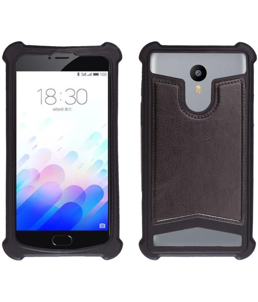 buy popular ce5f1 bd9d4 Intex Aqua Fish Shock Proof Case Shopme - Black