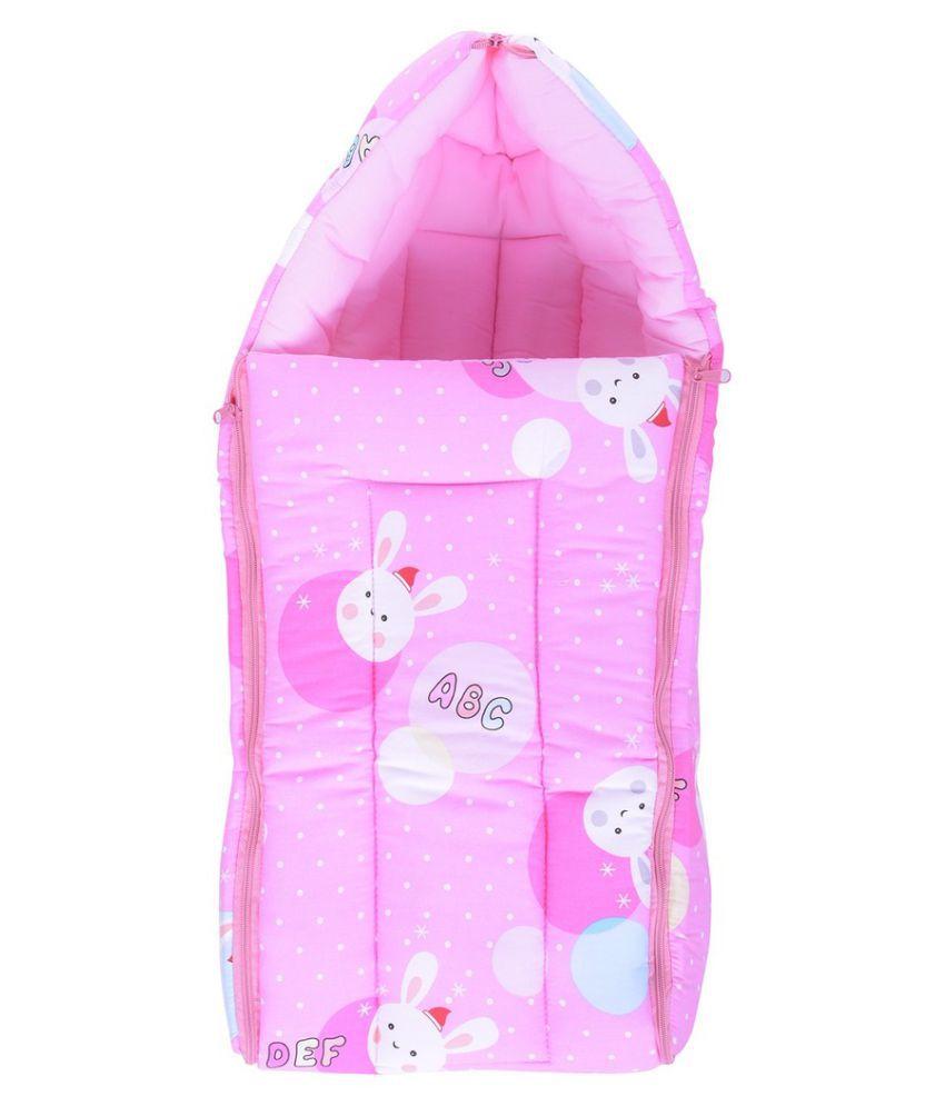 Kidzvilla Baby Sleeping Bag Pink Color