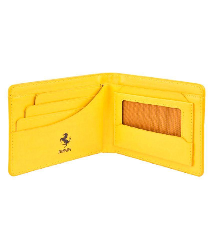 puma wallets yellow